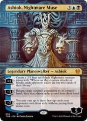 Ashiok, Nightmare Muse (Borderless) (MR) (Foil)