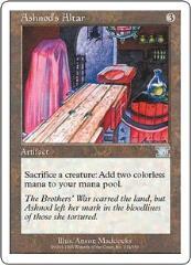 Ashnods's Altar (U) (x4)