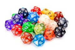 Assorted Pack - d20 (25)