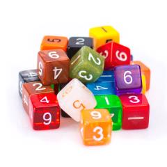 Assorted Pack - d6 (25)
