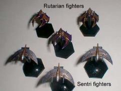 Centauri Rutarian Strike Fighter