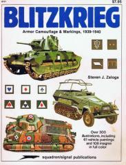 Blitzkrieg - Armor Camouflage & Markings, 1939-1940