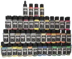 Complete Set of Miniature Airbrush Paints
