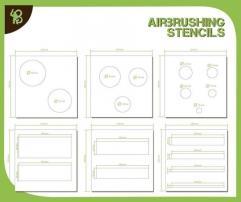 Stencils - Circles & Strips
