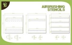 Stencils - Sloping Stripes