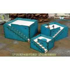 Q-Building Pack (Turquoise & White)