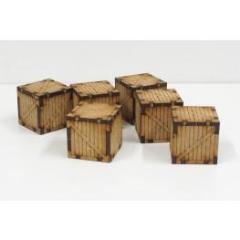 Wooden Containers - Small