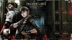 Resident Evil DBG - Chris/Jill Game Mat