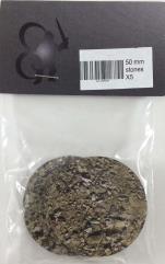 50mm Round Base - Stones