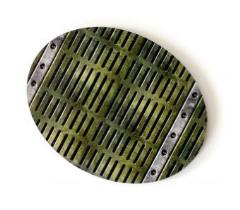 90x70mm Oval Base - Industrial