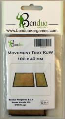 Movement Tray - 100x40mm