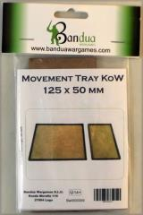 Movement Tray - 125x50mm