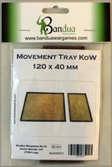 Movement Tray - 120x40mm