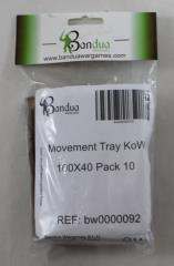 Movement Tray - 100x40mm (10 Pack)