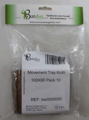 Movement Tray - 100x80mm (10 Pack)