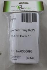 Movement Tray - 125x50mm (10 Pack)