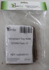 Movement Tray - 120x80mm (10 Pack)