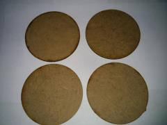 80mm Round Bases