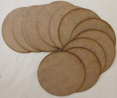 80x40mm Rectangle Bases