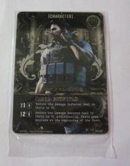 Promo Card - Chris Redfield, Lost in Nightmares