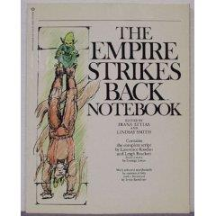 Empire Strikes Back, The -  Notebook w/Script and Storyboards