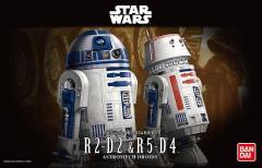 Bandai Star Wars - R2-D2 & R5-D4