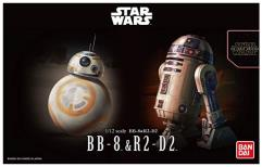 Bandai Star Wars - BB-8 & R2-D2
