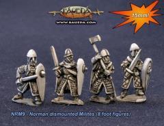 Norman Dismounted Milites