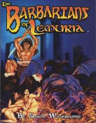 Barbarians of Lemuria (1st Edition, 2nd Printing)