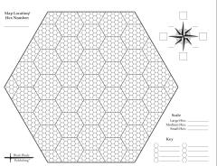 "Double-Sided Hex Paper - 8.5""x11"""