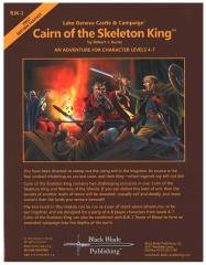 Cairn of the Skeleton King (2nd Edition, 2nd Printing)