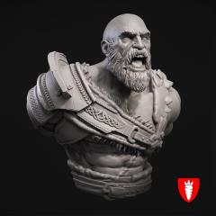 Barbarian Bust 1/10 Scale