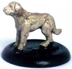 Large Dog Standing