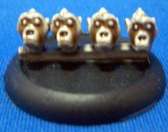 28mm Ape Heads