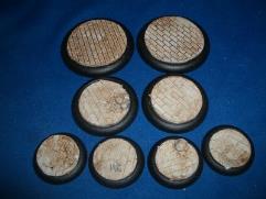 30mm Round - Brick Floor