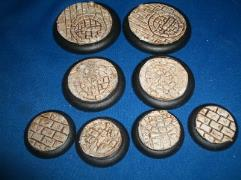 50mm Round - Broken Sword