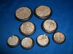 Assorted Base Inserts - Irregular Stone Floor