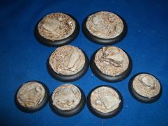 Assorted Base Inserts - Sand & Slate