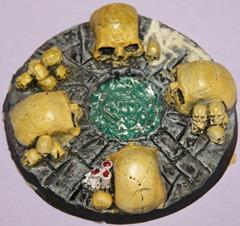 60mm Objective Marker - Skull Bases