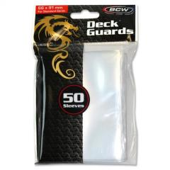 Gloss Card Sleeves - Clear (50)