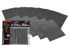 Elite Gloss Card Sleeves - Cool Gray (80)