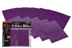 Elite Gloss Card Sleeves - Mulberry (80)
