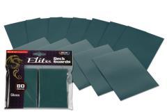 Elite Gloss Card Sleeves - Teal (80)