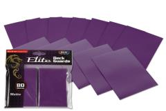 Elite Matte Card Sleeves - Mulberry (80)