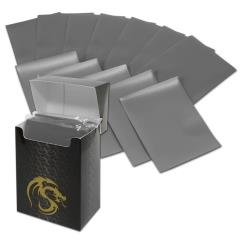 Double Matte Card Sleeves - Gray (80)