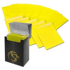 Double Matte Card Sleeves - Yellow (80)