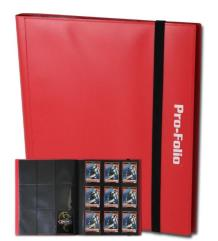 Pro-Folio 9-Pocket Album - Red