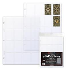 16-Pocket Protective Pages - Clear (20)
