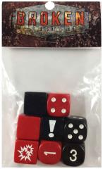 Broken Contract Dice Set - Red (8)