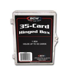 Hinged Trading Card Box (5 Pack)